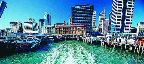 Auckland-from-ferry