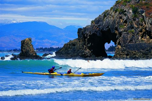Kayaking-the-coast