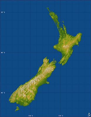 Topography-New-Zealand