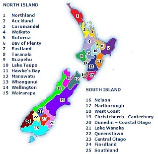 new-zealand-regions-geographically
